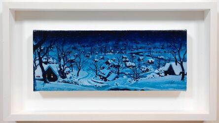 Dan Colen, 'Winter Town', 2014