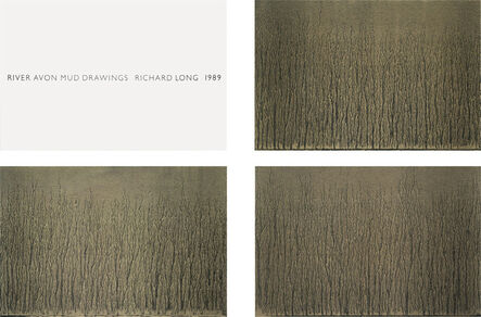 Richard Long, 'River Avon Mud Drawings ', 1989