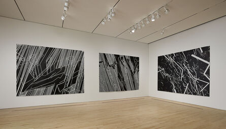 """Lebbeus Woods, 'Conflict Space 3, Installation view """"Field Conditions""""', 2006"""