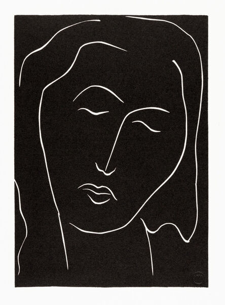 Henri Matisse, '. . . DORS, DORMEUSE AUX LONGS CILS . . . (Variant IV)', 1944