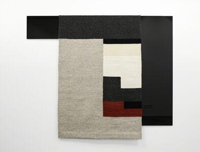 Andrea Zittel, 'Parallel Planar Panel (dark grey, light grey, white, off-white, rust, black)', 2015