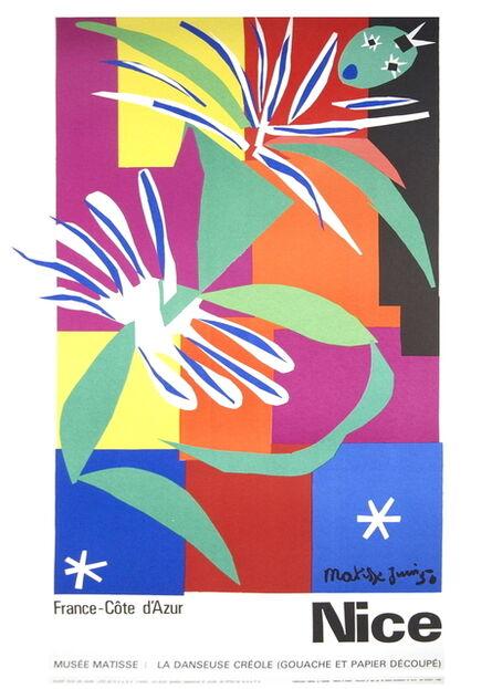 Henri Matisse, 'La Danseuse Creole, Nice, France', 1965