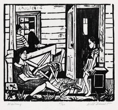 Will Barnet, 'Waiting', 1937
