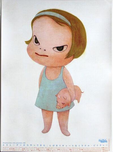 Yoshitomo Nara, 'Lotta Leaves Home poster', 1993