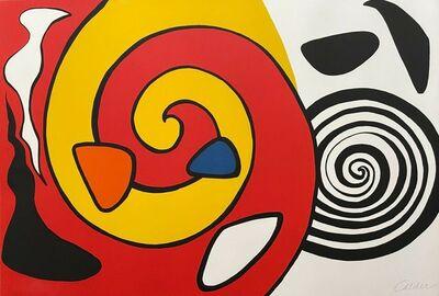 Alexander Calder, 'Untitled (Spirals and Forms)', ca. 1965