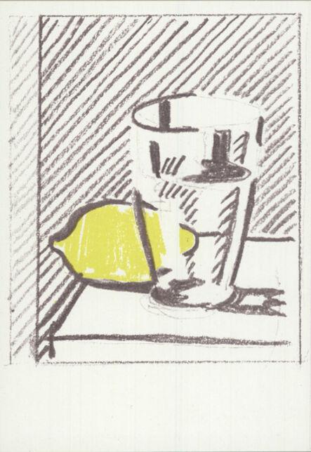 Roy Lichtenstein, 'Glasss and Lemon', 1973