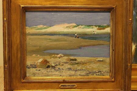 Edward Henry Potthast, 'Dunes'