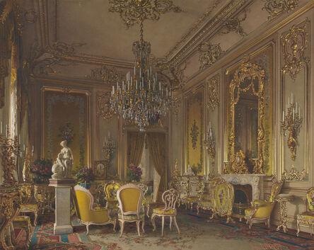 Luigi Premazzi, 'Mansion of Baron A.L. Stieglitz. The Drawing-Room', 1870 (?)