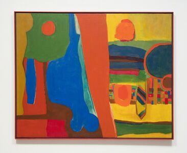 Emma Amos, 'Blue Balls', 1964