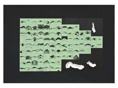Shozo Shimamoto, 'Hole (green)', 1985