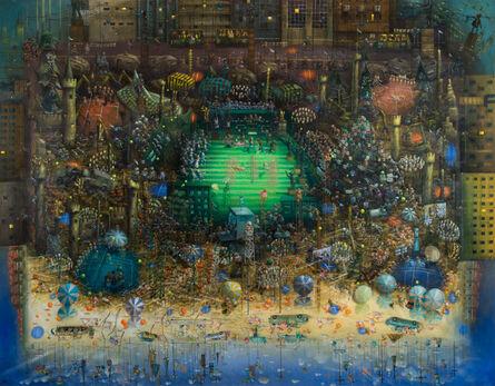 Cameron Hayes, 'Martina vs. Chris Evert', 2014