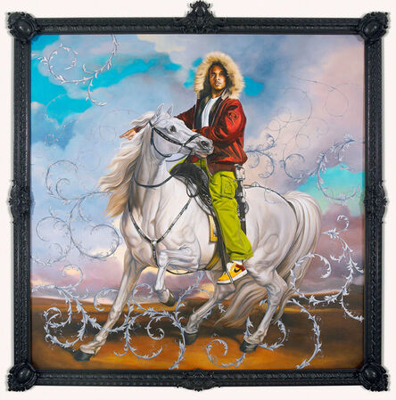 Kehinde Wiley, 'Colonel Platoff on His Charger', 2007-2008