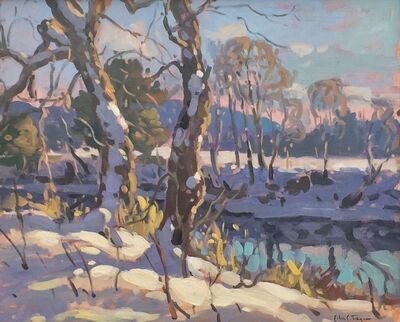 John C. Traynor, 'Stream In Winter', ca. 1998