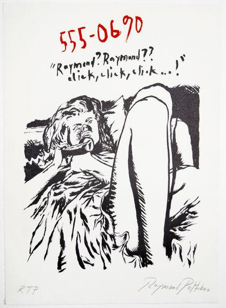 Raymond Pettibon, 'Untitled (555-0690)', 2018