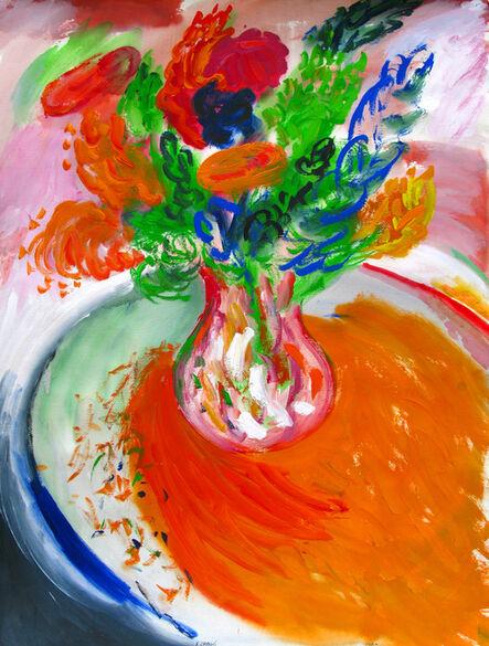 Yehouda Chaki, 'Flowers 235-A', 1995