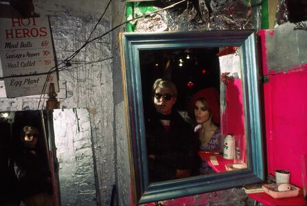Hervé GLOAGUEN, 'Andy WARHOL and Edie SEDGWICK at the Factory, NY 1966', 1966