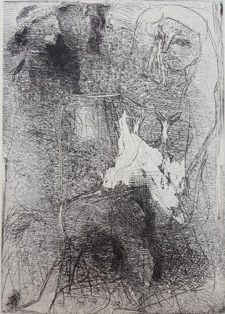 Pablo Picasso, 'Têtes et Figures Emmêlées (Tangled Heads and Figures)', 1934