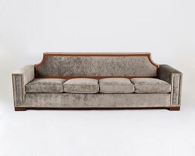 André Arbus, 'Freestanding Four Seat Sofa (pair)', 1955