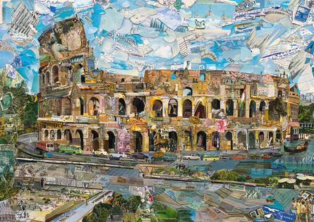 Vik Muniz, 'Postcards from Nowhere: Rome', 2014
