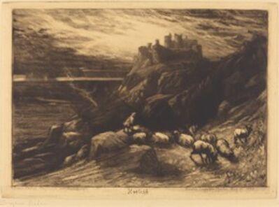 Francis Seymour Haden, 'Harlech (No.2)', 1880