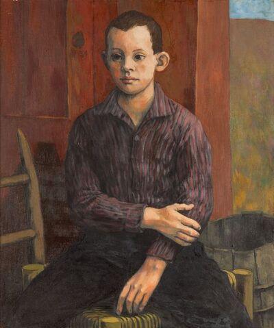 Anne Lyman Powers, '[Portrait of a Seated Boy]'