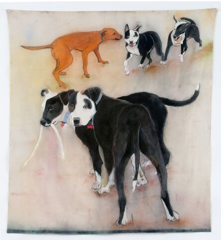 Sherry Markovitz, 'GRACE & JASPER', 2015