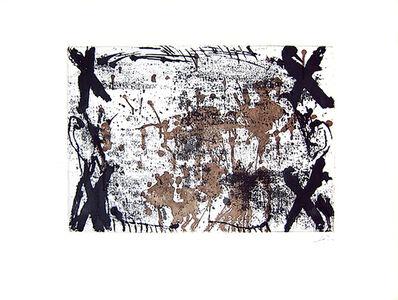 Antoni Tàpies, 'Les Quatre Croix', 1969