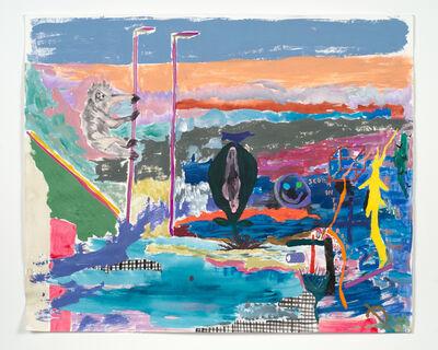 Chris Johanson, 'How'd I Even Get Here no. 5', 2015