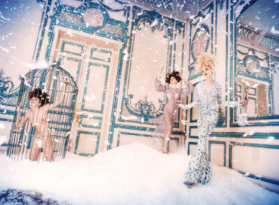 David LaChapelle, 'Snow Day', 1996