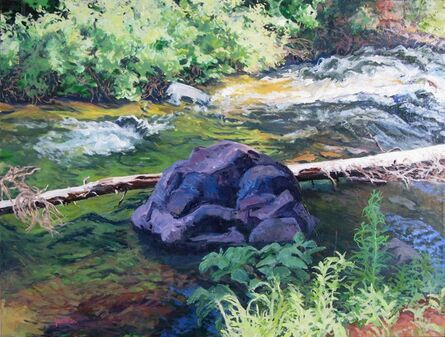 Sheila Gardner, 'Down From the Heights - Baker Creek', 2012