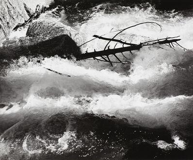 Ansel Adams, 'Rushing Water, Merced River', ca. 1955