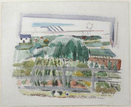John Marin (1870-1953), 'Little Nursery, Rockleigh, New Jersey', 1925