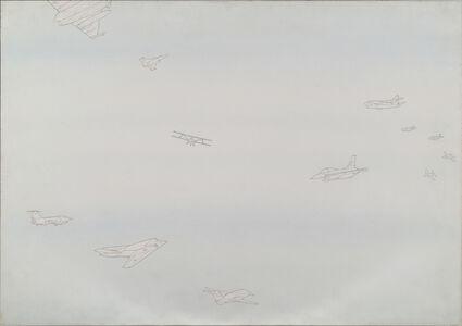 Alighiero Boetti, 'Cieli Ad Alta Quota', 1988