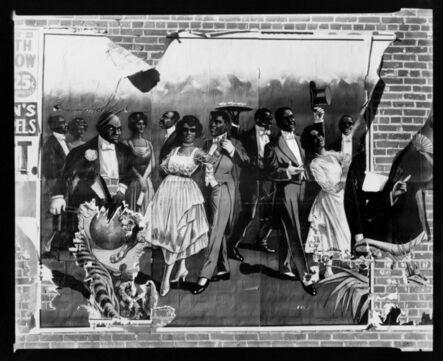 Walker Evans, 'Minstrel Show Bill Detail, Alabama', 1936