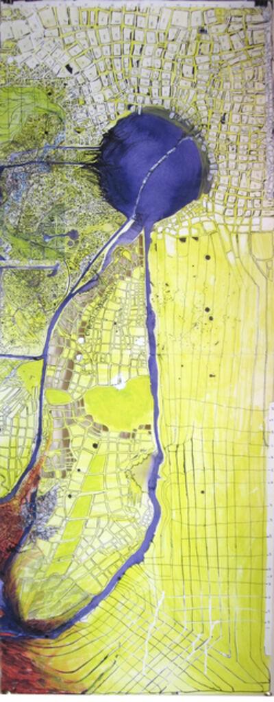 Madeleine Brehm Boucher, 'Map (City)', 2010-2012