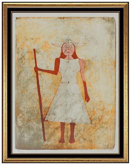 Rufino Tamayo, 'La Paysanne', 1969