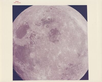 William Anders, 'Close-up view of the Moon, Apollo 8, December 1968'