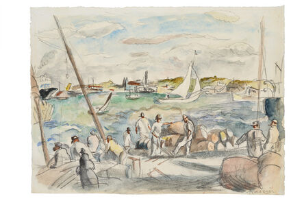 Jules Pascin, 'Port de Havana', 1915-1920