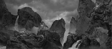 Yang Yongliang 杨泳梁, '五龙图  Five Dragons', 2021