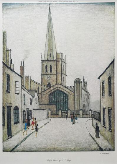 Laurence Stephen Lowry, 'Burford Church.', ca. 1970