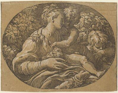 Antonio da Trento after Parmigianino, 'The Virgin with the Rose'