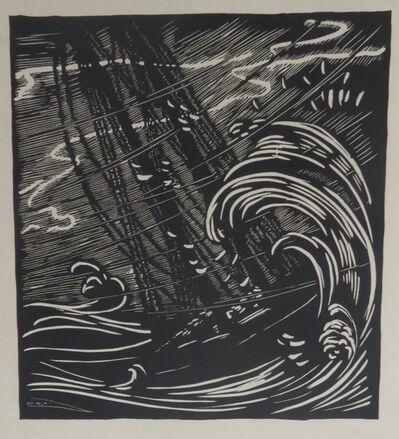Wharton Esherick, 'Ship on Stormy Sea', ca. 1920