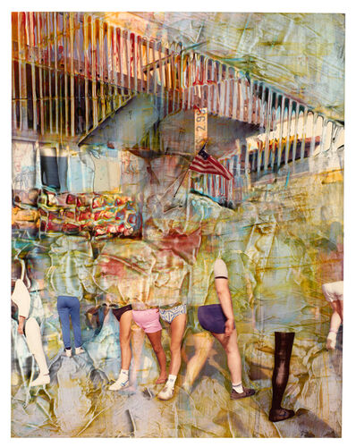 Dennis Farber, 'Untitled (Street Scene)', ca. 1985