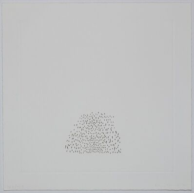 Edda Renouf, 'Clusters (Plate 4)', 1976