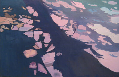 Ralph Wickiser, 'Purple Stripe', 1985-1998