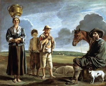 Louis Le Nain, 'The Resting Horseman', ca. 1640