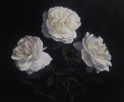 """Rachel Personett, '""""Three Garden Roses""""', 2018"""