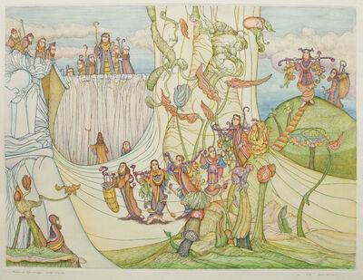 Zevi Blum, 'Biblical Landscape with Scouts'