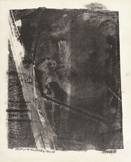 Robert Rauschenberg, 'Rack (Stoned Moon)', 1969