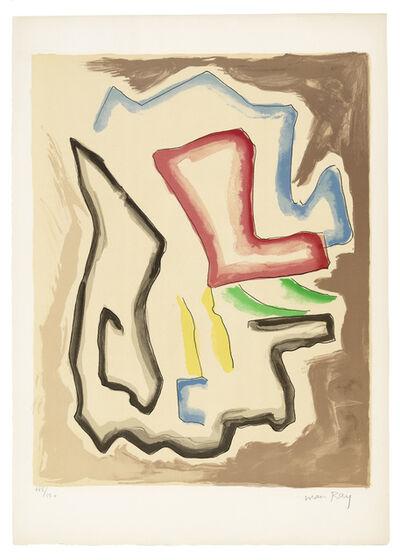 Man Ray, 'De l'Origine des especes par voie de selection irrationnelle (X)', 1971